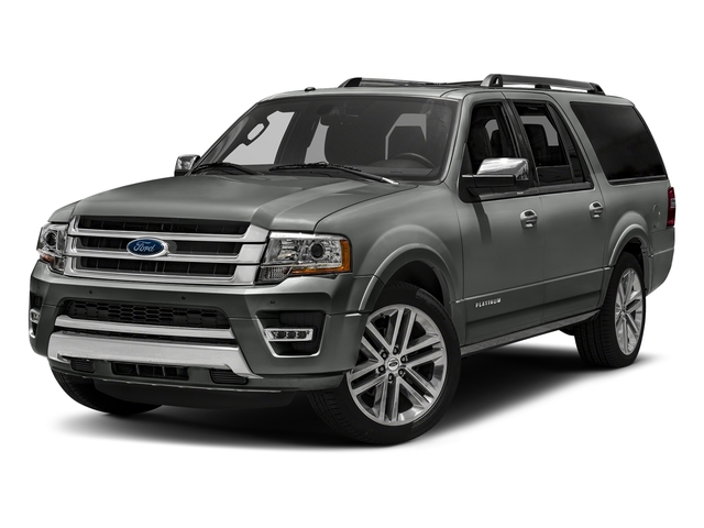 Magnetic Metallic 2016 Ford Expedition EL Pictures Expedition EL Utility 4D Platinum 4WD V6 Turbo photos front view