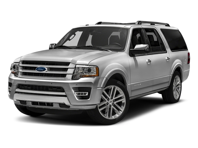 Ingot Silver Metallic 2016 Ford Expedition EL Pictures Expedition EL Utility 4D Platinum 4WD V6 Turbo photos front view