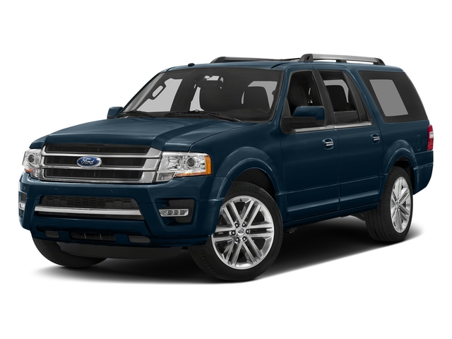 Blue Jeans Metallic 2016 Ford Expedition EL Pictures Expedition EL Utility 4D Limited 4WD V6 Turbo photos front view
