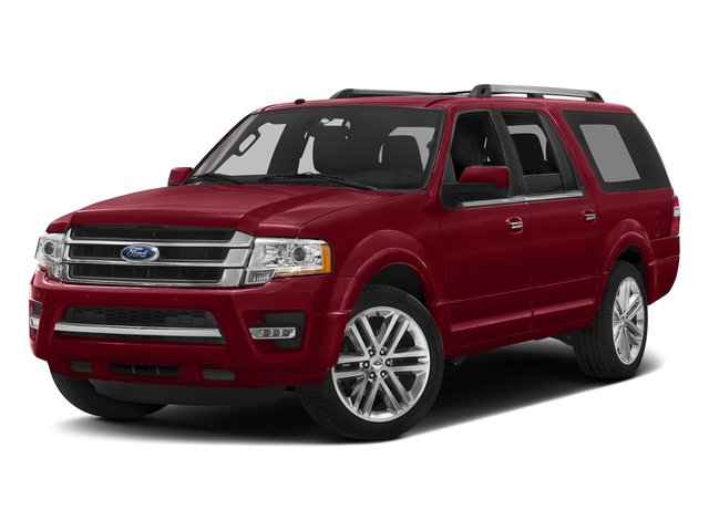 Ruby Red Metallic Tinted Clearcoat 2016 Ford Expedition EL Pictures Expedition EL Utility 4D Limited 4WD V6 Turbo photos front view