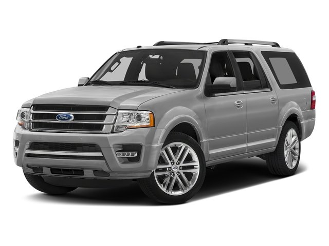 Ingot Silver Metallic 2016 Ford Expedition EL Pictures Expedition EL Utility 4D Limited 4WD V6 Turbo photos front view