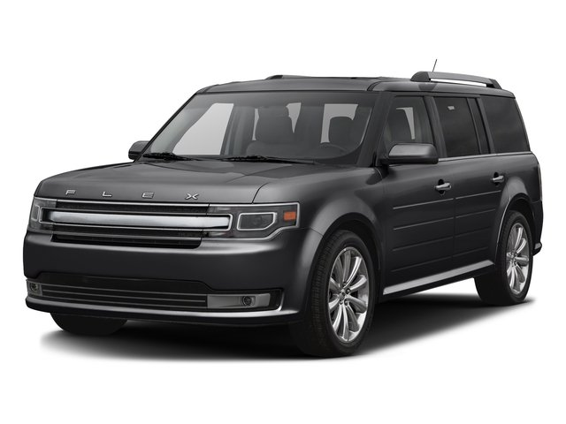 Shadow Black 2016 Ford Flex Pictures Flex Wagon 4D Limited AWD photos front view
