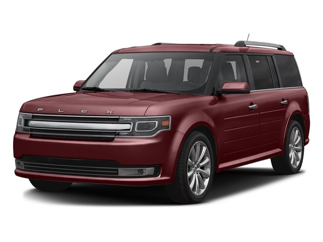 Bronze Fire Metallic Tinted Clearcoat 2016 Ford Flex Pictures Flex Wagon 4D Limited AWD photos front view
