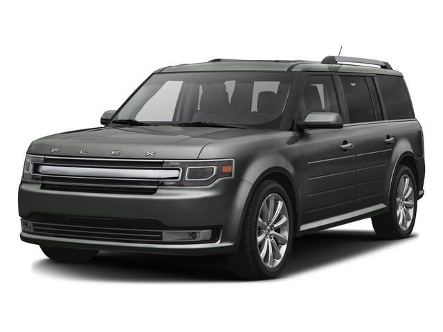 Magnetic Metallic 2016 Ford Flex Pictures Flex Wagon 4D Limited AWD photos front view