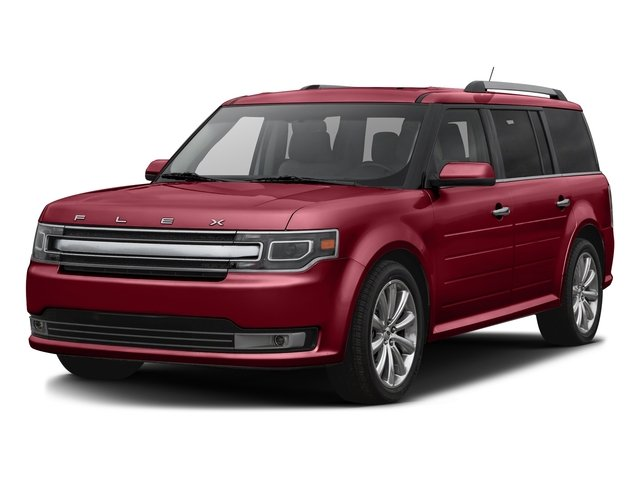 Ruby Red Metallic Tinted Clearcoat 2016 Ford Flex Pictures Flex Wagon 4D Limited AWD photos front view