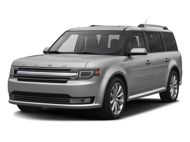Ingot Silver Metallic 2016 Ford Flex Pictures Flex Wagon 4D Limited AWD photos front view