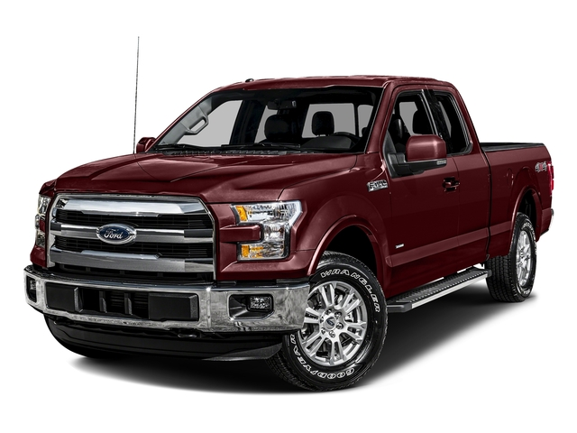 Bronze Fire Metallic 2016 Ford F-150 Pictures F-150 Supercab Lariat 2WD photos front view