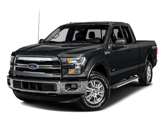 Lithium Gray 2016 Ford F-150 Pictures F-150 Supercab Lariat 2WD photos front view