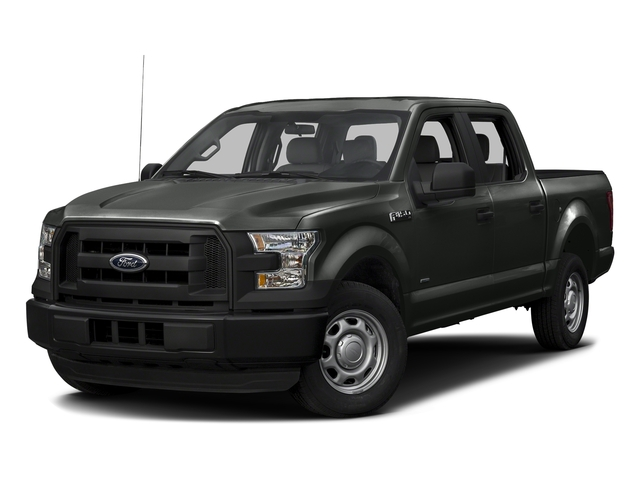 Magnetic Metallic 2016 Ford F-150 Pictures F-150 Crew Cab XL 2WD photos front view
