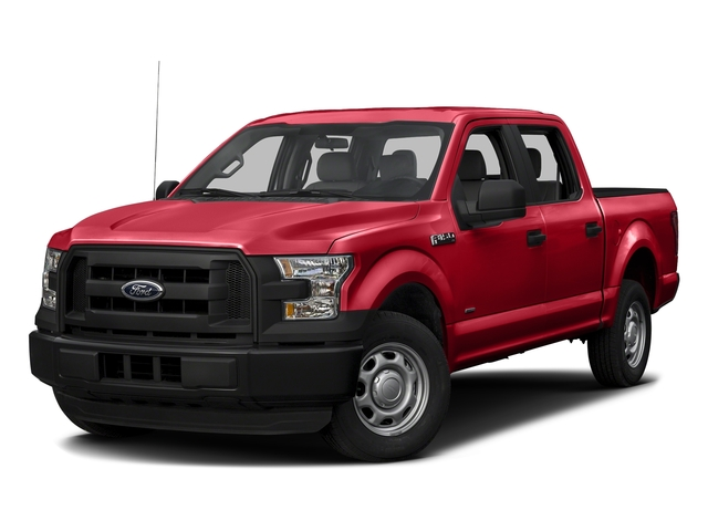 Race Red 2016 Ford F-150 Pictures F-150 Crew Cab XL 2WD photos front view