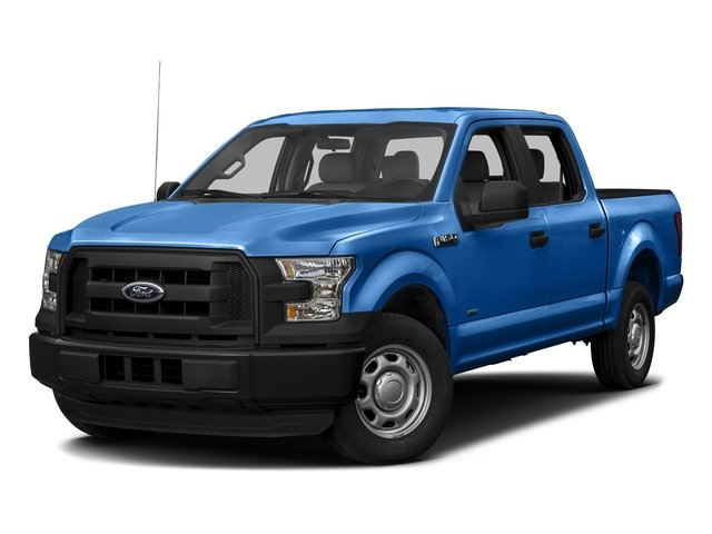 Blue Flame Metallic 2016 Ford F-150 Pictures F-150 Crew Cab XL 2WD photos front view