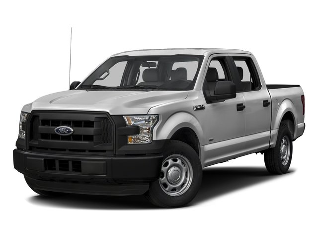 Ingot Silver Metallic 2016 Ford F-150 Pictures F-150 Crew Cab XL 2WD photos front view