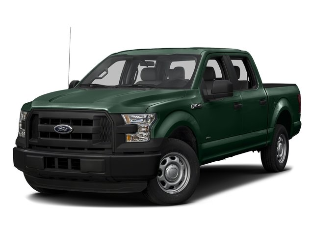 Green Gem Metallic 2016 Ford F-150 Pictures F-150 Crew Cab XL 2WD photos front view