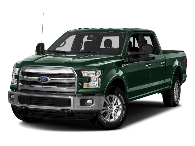 Green Gem Metallic 2016 Ford F-150 Pictures F-150 Crew Cab Lariat 4WD photos front view