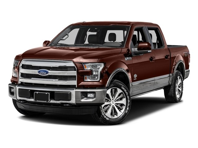Caribou Metallic 2016 Ford F-150 Pictures F-150 Crew Cab King Ranch 4WD photos front view
