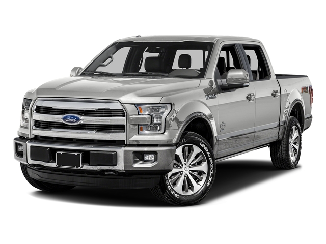 White Platinum Metallic Tri-Coat 2016 Ford F-150 Pictures F-150 Crew Cab King Ranch 4WD photos front view