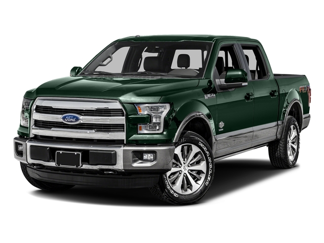Green Gem Metallic 2016 Ford F-150 Pictures F-150 Crew Cab King Ranch 4WD photos front view