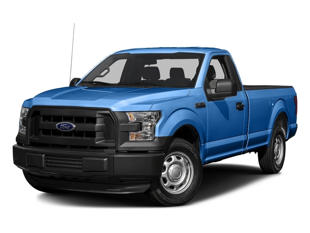 Blue Flame Metallic 2016 Ford F-150 Pictures F-150 Regular Cab XL 4WD photos front view