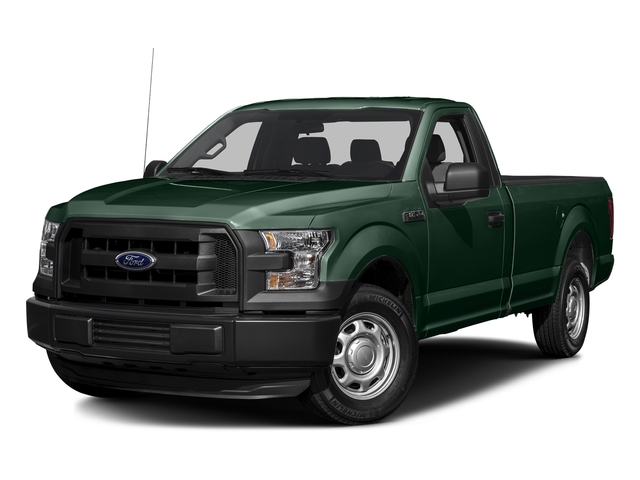 Green Gem Metallic 2016 Ford F-150 Pictures F-150 Regular Cab XL 4WD photos front view