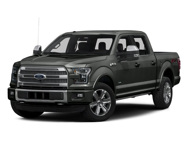Magnetic Metallic 2016 Ford F-150 Pictures F-150 Crew Cab Platinum 2WD photos front view