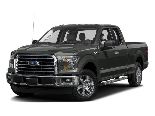 Magnetic Metallic 2016 Ford F-150 Pictures F-150 Supercab XLT 2WD photos front view