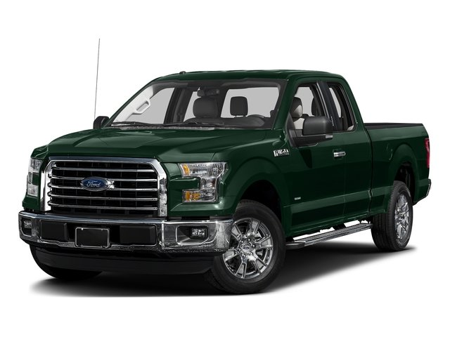 Green Gem Metallic 2016 Ford F-150 Pictures F-150 Supercab XLT 2WD photos front view