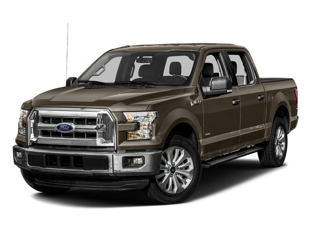 Caribou Metallic 2016 Ford F-150 Pictures F-150 Crew Cab XLT 2WD photos front view
