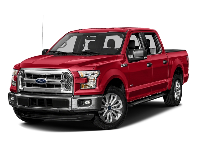 Race Red 2016 Ford F-150 Pictures F-150 Crew Cab XLT 2WD photos front view