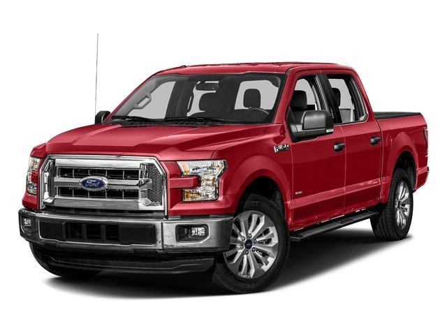 Ruby Red Metallic Tinted Clearcoat 2016 Ford F-150 Pictures F-150 Crew Cab XLT 2WD photos front view