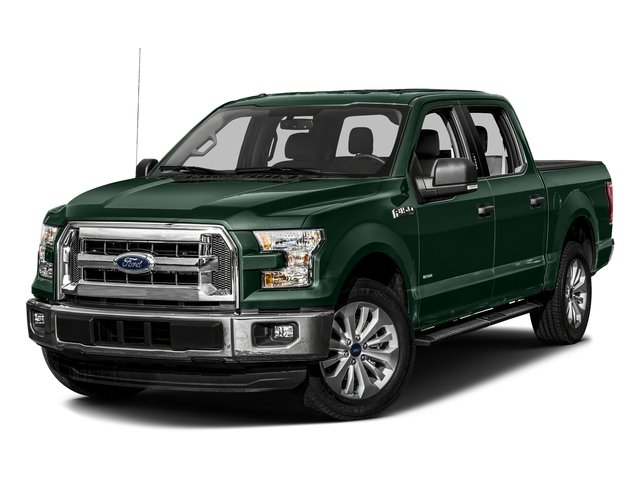 Green Gem Metallic 2016 Ford F-150 Pictures F-150 Crew Cab XLT 2WD photos front view
