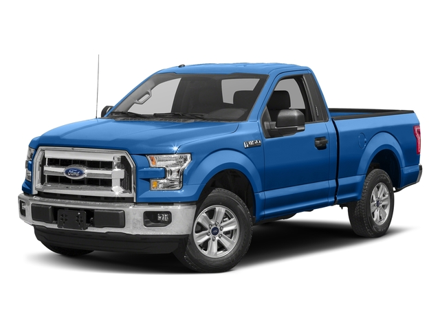 Blue Flame Metallic 2016 Ford F-150 Pictures F-150 Regular Cab XLT 2WD photos front view