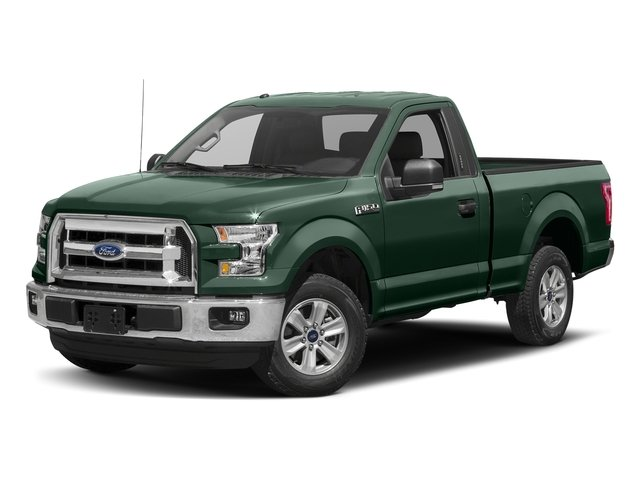 Green Gem Metallic 2016 Ford F-150 Pictures F-150 Regular Cab XLT 2WD photos front view