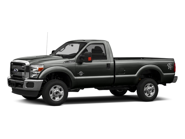 Magnetic Metallic 2016 Ford Super Duty F-350 DRW Pictures Super Duty F-350 DRW Regular Cab XLT 2WD photos front view