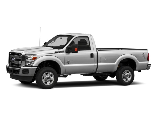 Ingot Silver Metallic 2016 Ford Super Duty F-350 DRW Pictures Super Duty F-350 DRW Regular Cab XLT 2WD photos front view