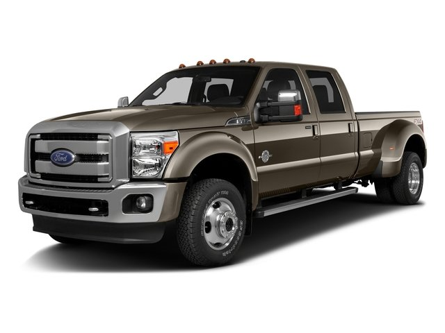 Caribou Metallic 2016 Ford Super Duty F-350 DRW Pictures Super Duty F-350 DRW Crew Cab Lariat 2WD photos front view