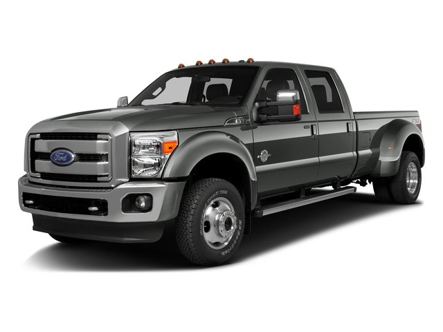 Magnetic Metallic 2016 Ford Super Duty F-350 DRW Pictures Super Duty F-350 DRW Crew Cab XL 2WD photos front view