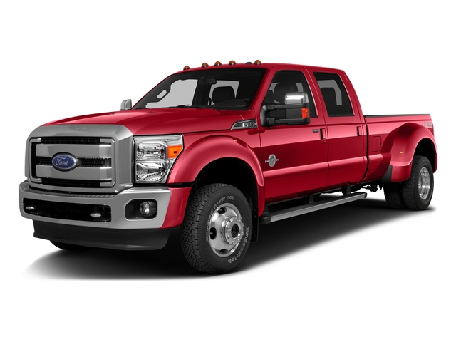 Race Red 2016 Ford Super Duty F-350 DRW Pictures Super Duty F-350 DRW Crew Cab Lariat 4WD photos front view
