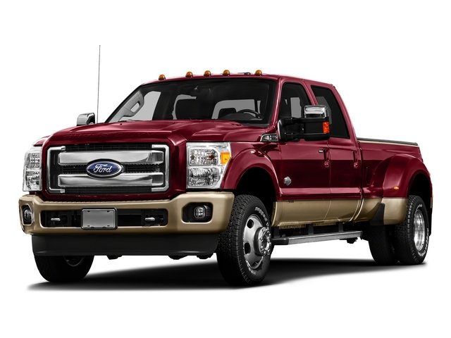 Ruby Red Metallic Tinted Clearcoat 2016 Ford Super Duty F-450 DRW Pictures Super Duty F-450 DRW Crew Cab King Ranch 4WD T-Diesel photos front view
