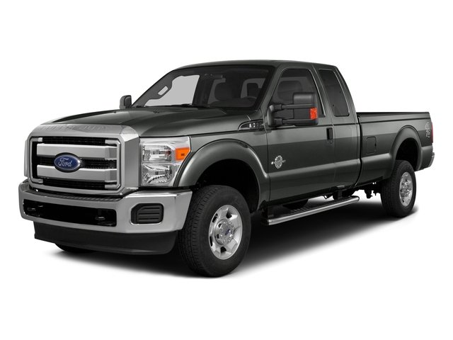Magnetic Metallic 2016 Ford Super Duty F-350 DRW Pictures Super Duty F-350 DRW Supercab XLT 4WD photos front view