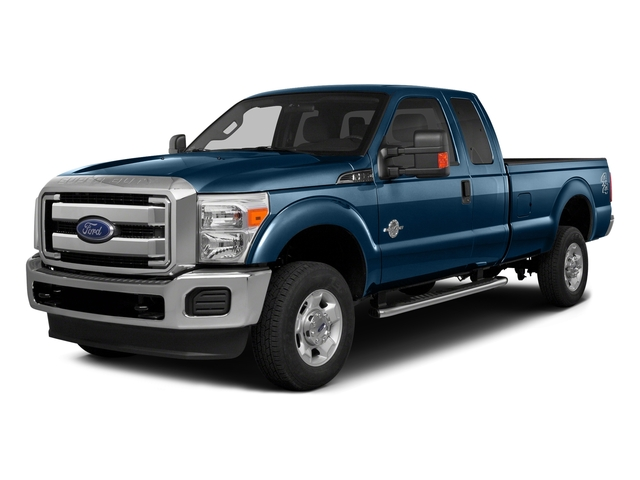 Blue Jeans Metallic 2016 Ford Super Duty F-350 DRW Pictures Super Duty F-350 DRW Supercab XLT 4WD photos front view