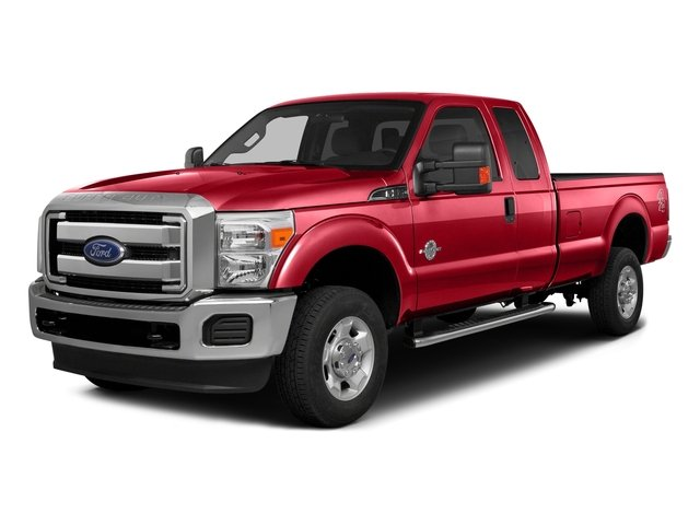 Race Red 2016 Ford Super Duty F-350 DRW Pictures Super Duty F-350 DRW Supercab XLT 4WD photos front view