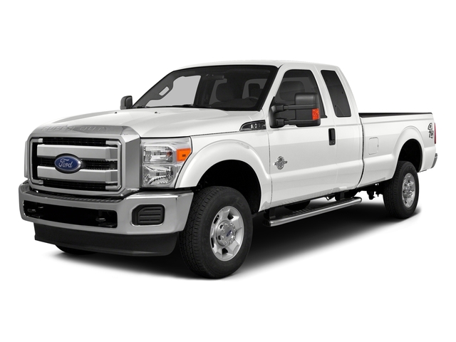 White Platinum Metallic Tri-Coat 2016 Ford Super Duty F-350 DRW Pictures Super Duty F-350 DRW Supercab Lariat 2WD photos front view
