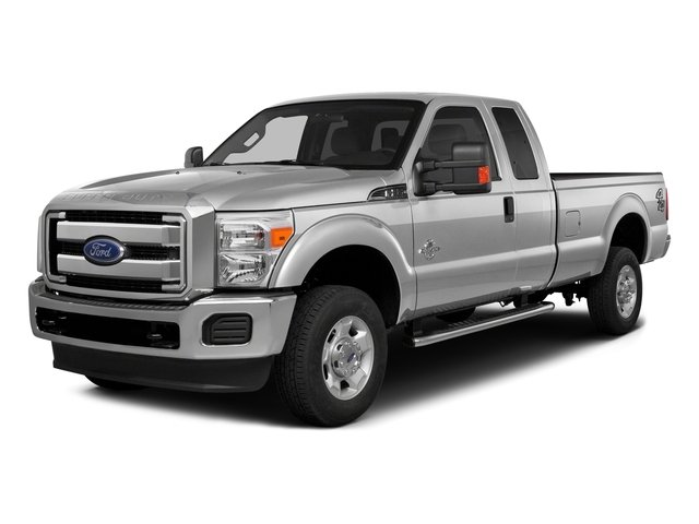 Ingot Silver Metallic 2016 Ford Super Duty F-350 DRW Pictures Super Duty F-350 DRW Supercab XLT 2WD photos front view