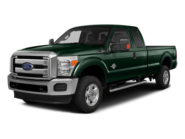 Green Gem Metallic 2016 Ford Super Duty F-350 DRW Pictures Super Duty F-350 DRW Supercab Lariat 2WD photos front view