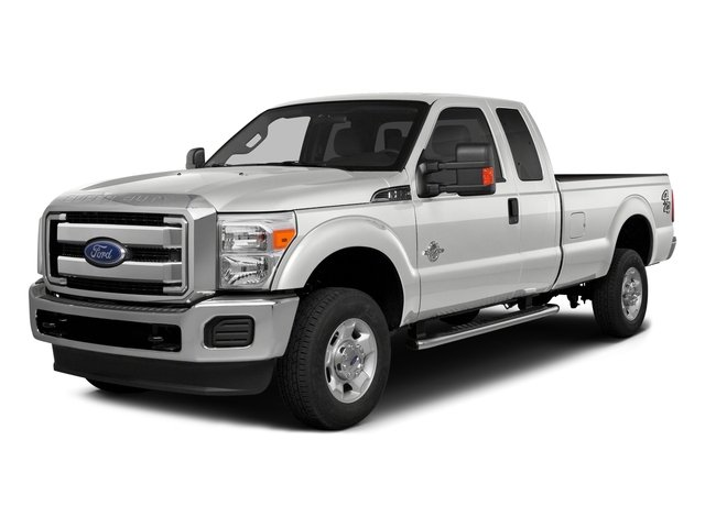 Oxford White 2016 Ford Super Duty F-350 DRW Pictures Super Duty F-350 DRW Supercab XLT 2WD photos front view