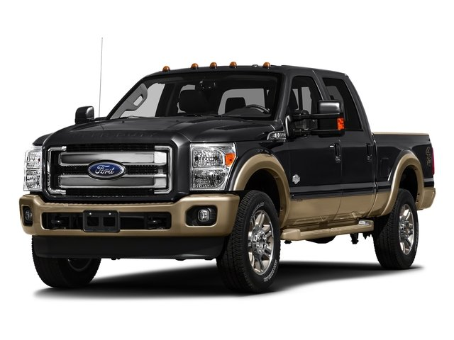 Shadow Black 2016 Ford Super Duty F-250 SRW Pictures Super Duty F-250 SRW Crew Cab King Ranch 2WD photos front view