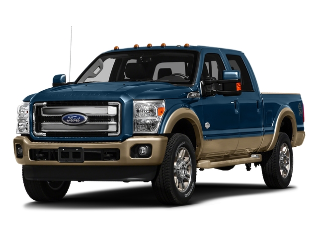 Blue Jeans Metallic 2016 Ford Super Duty F-250 SRW Pictures Super Duty F-250 SRW Crew Cab King Ranch 2WD photos front view
