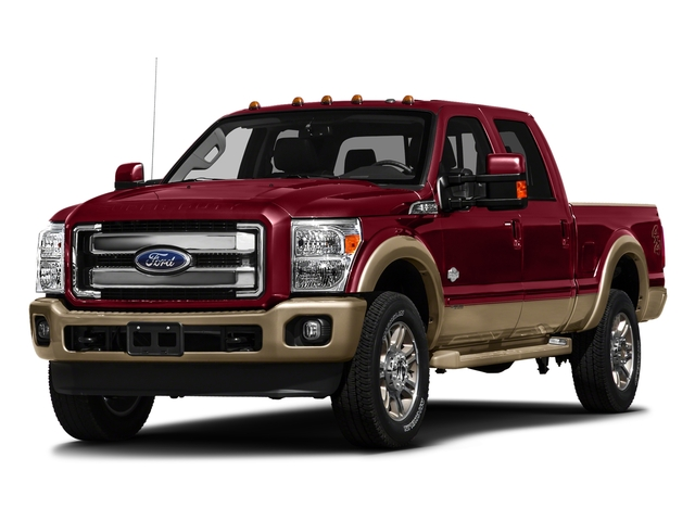 Ruby Red Metallic Tinted Clearcoat 2016 Ford Super Duty F-250 SRW Pictures Super Duty F-250 SRW Crew Cab King Ranch 2WD photos front view