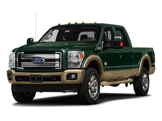 Green Gem Metallic 2016 Ford Super Duty F-250 SRW Pictures Super Duty F-250 SRW Crew Cab King Ranch 2WD photos front view