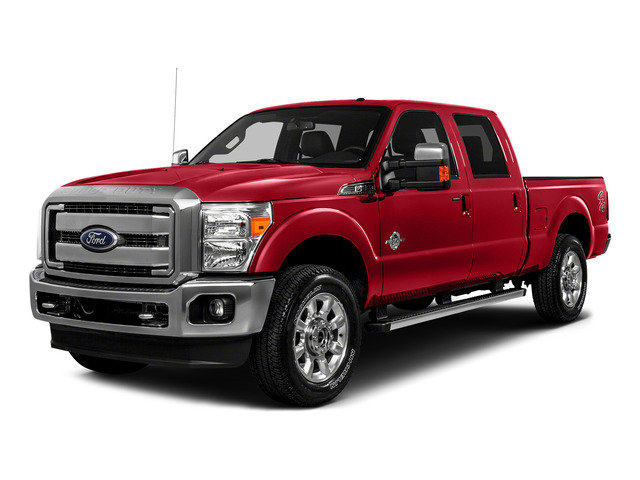 Race Red 2016 Ford Super Duty F-250 SRW Pictures Super Duty F-250 SRW Crew Cab XL 4WD photos front view